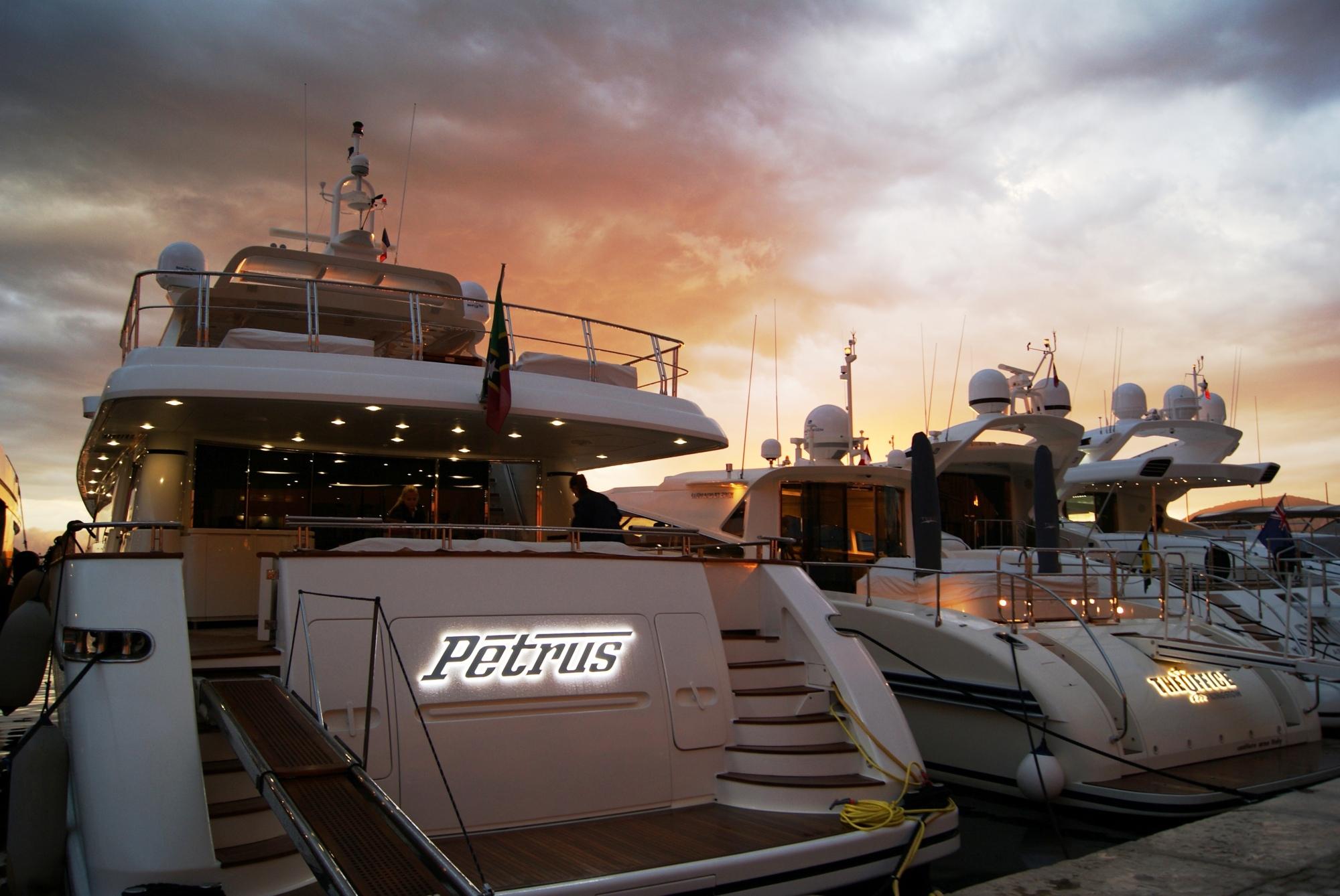 St Tropez France yachts