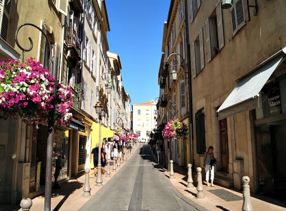 Antibes streets France