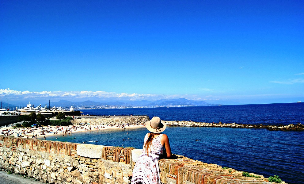 Antibes views France