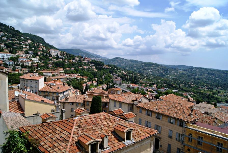 Grasse views France