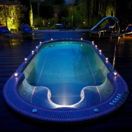 Le Mas Candille hotel hydrotherapy Pool