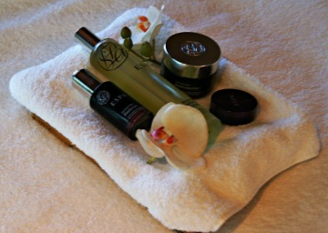 Le Mas Candille spa ESPA products