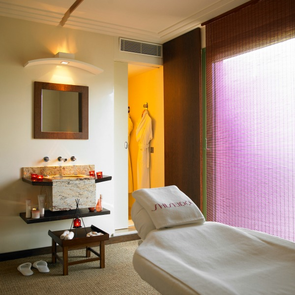 Le Mas Candille spa treatment room