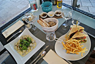 La Pergola lunch at French Riviera Hotel Le Mas Candille