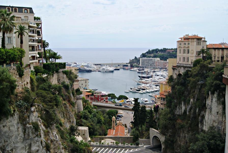 Monaco view France