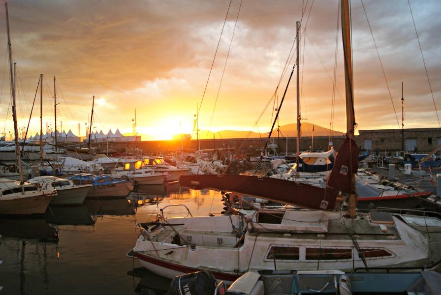 St Tropez France fishermen's harbor