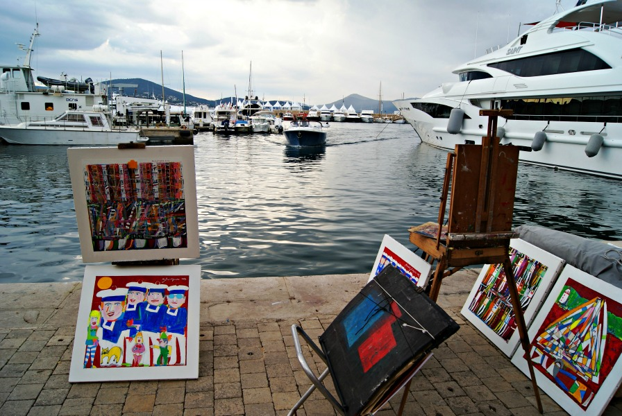 St Tropez France harbor