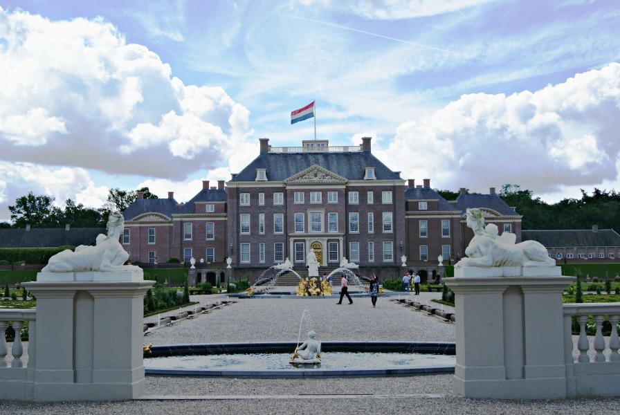Palace het Loo Apeldoorn backside