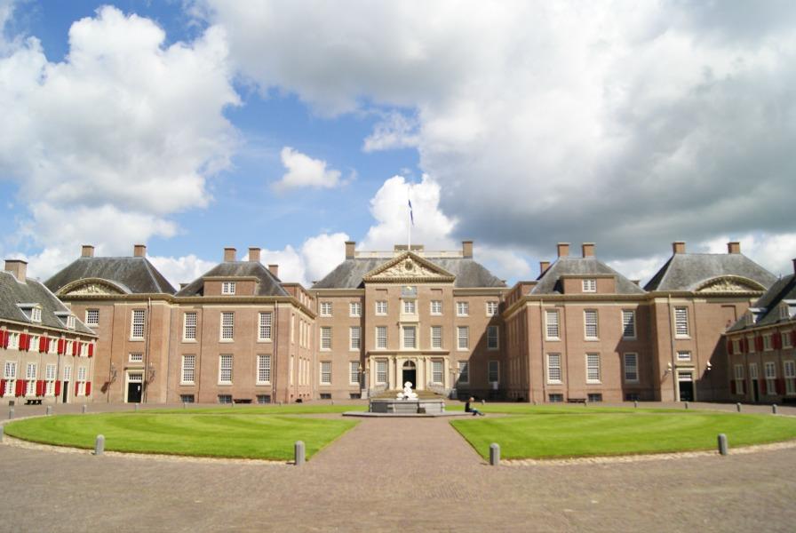 Palace het Loo Apeldoorn frontside