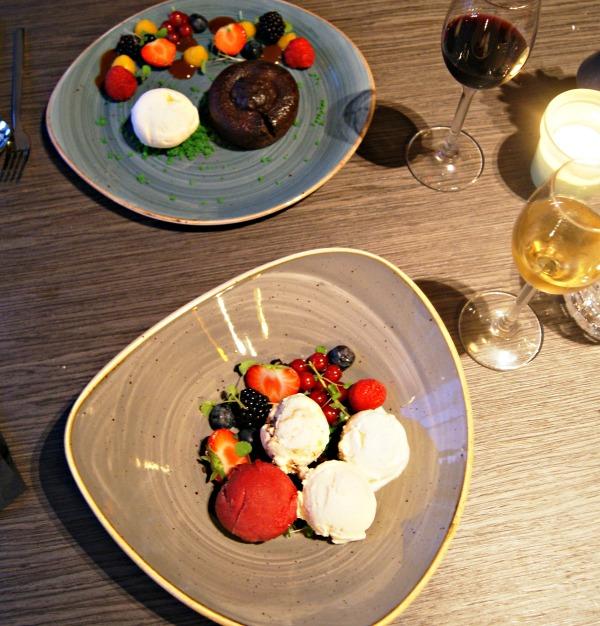 Bilderberg Europa Hotel Scheveningen-Holland dessert