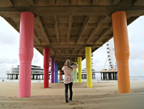 Scheveningen Holland under the pier (2)