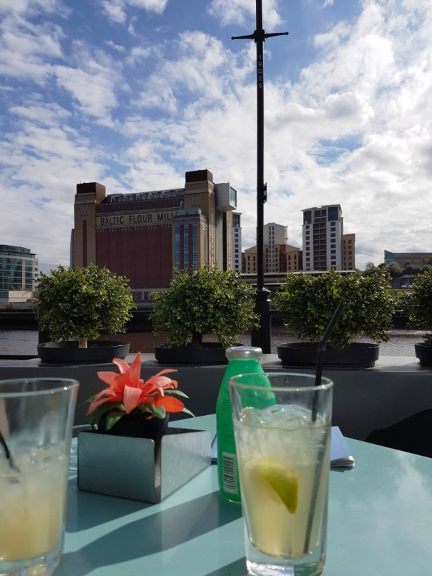 Drinks on the Quayside with views at The Baltic Centre of Art