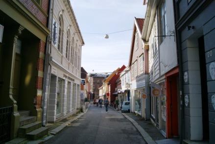 Streets of Bergen-Norway