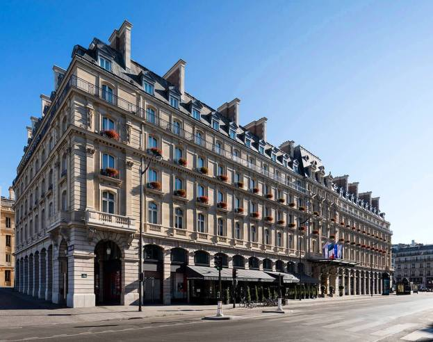 Hilton Paris Opera Hotel building