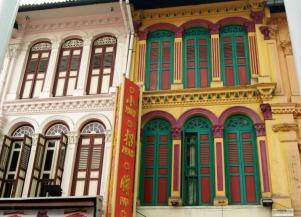 China Town facades