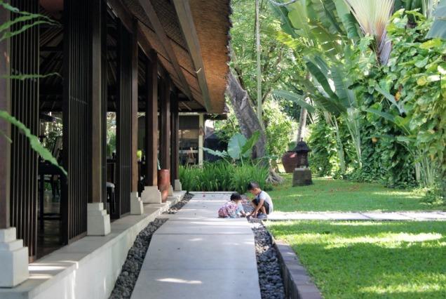 The Gangsa villa Sanur restaurant by Kayumanis